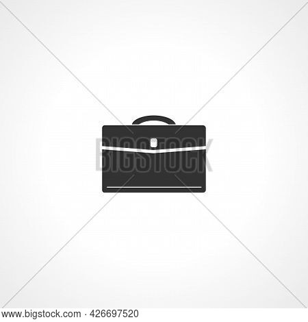 Briefcase Icon. Briefcase Isolated Simple Vector Icon