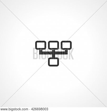 Structure Icon. Structure Isolated Simple Vector Icon