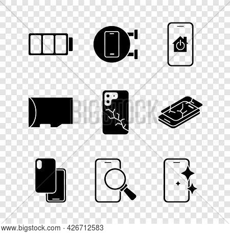 Set Battery, Phone Repair Service, Mobile With Smart Home, Smartphone, Glass Screen Protector, Micro