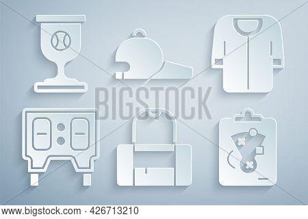 Set Sport Bag, Baseball T-shirt, Mechanical Scoreboard, Planning Strategy, Cap And Award Cup With Ba