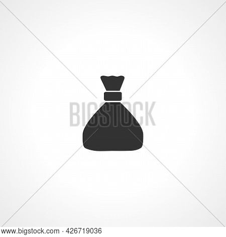 Money Pouch Bag Icon. Money Pouch Isolated Simple Vector Icon