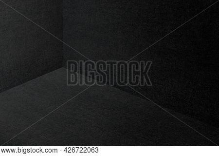 Dark room corner background and wallpaper