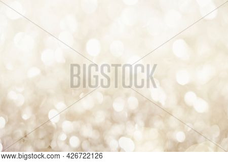 White gold bokeh patterned background illustration and wallpaper