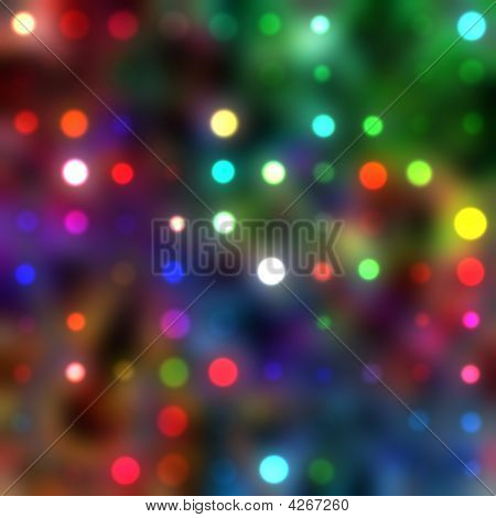 Abstract Colors And Lights