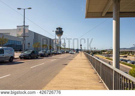 Athens, Greece - October 1, 2020: Athens International Airport, Greece.
