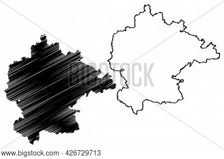 Kitzingen District (federal Republic Of Germany, Rural District Lower Franconia, Free State Of Bavar