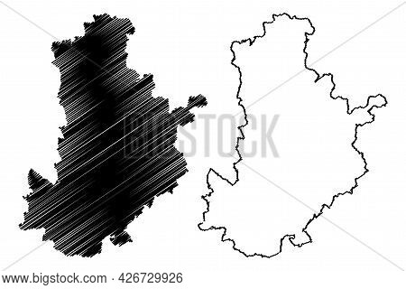 Kronach District (federal Republic Of Germany, Rural District Upper Franconia, Free State Of Bavaria