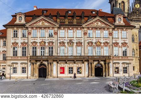 Prague, Czech Republic - September 13, 2020: National Gallery Museum On The Old Town Square Of Pragu