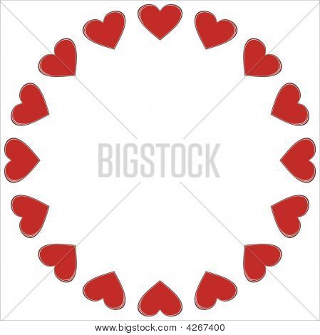 Valentine Heart Frame.