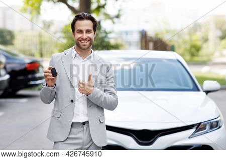 Car Sale And Rent Concept, Buyer Or Dealer Approved Auto