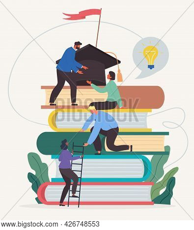 Learning Progress And Book Reading As Horizon Expansion. Knowledge Gain, Academic Studying, Cognitiv