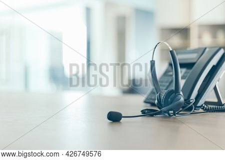 Communication Support, Call Center And Customer Service Help Desk.for (call Center) Concept