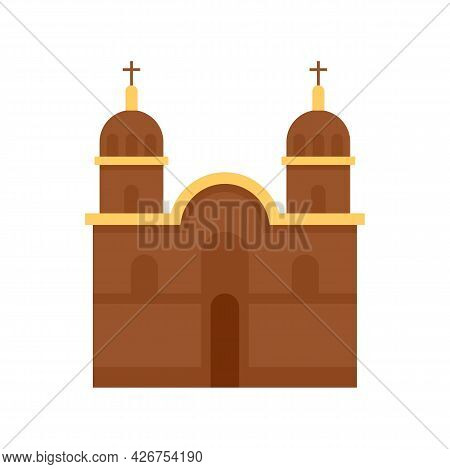 Peru Church Icon. Flat Illustration Of Peru Church Vector Icon Isolated On White Background