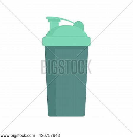 Sport Shaker Icon. Flat Illustration Of Sport Shaker Vector Icon Isolated On White Background