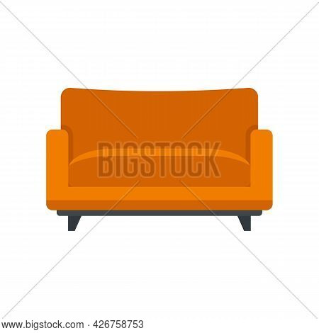 Sofa Armchair Icon. Flat Illustration Of Sofa Armchair Vector Icon Isolated On White Background