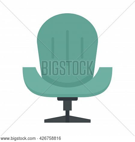 Mobility Armchair Icon. Flat Illustration Of Mobility Armchair Vector Icon Isolated On White Backgro