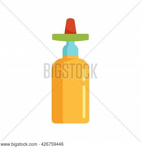 Mexican Tequila Icon. Flat Illustration Of Mexican Tequila Vector Icon Isolated On White Background