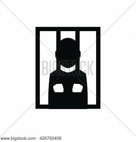 Prisoner Icon. Meticulously Designed Vector Eps File.