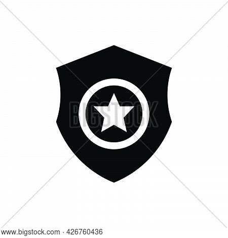 Sheriff Icon. Meticulously Designed Vector Eps File.