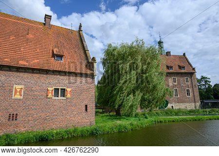 at the castle of raesfeld in westphalia