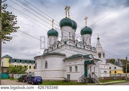 Church Of The Ascension Of The Lord On Debra In Kostroma, Russia
