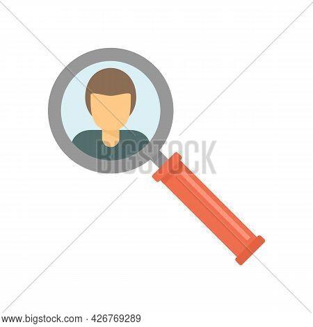 Company Recruit Icon. Flat Illustration Of Company Recruit Vector Icon Isolated On White Background