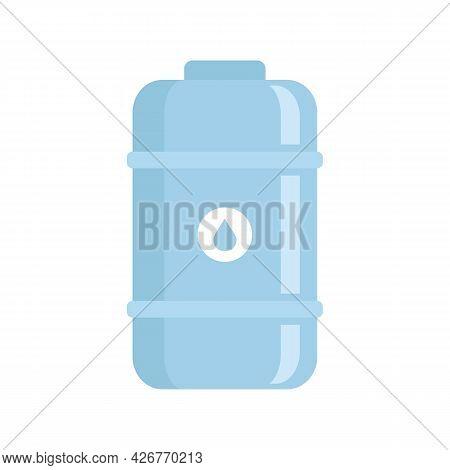 Fresh Milk Tank Icon. Flat Illustration Of Fresh Milk Tank Vector Icon Isolated On White Background