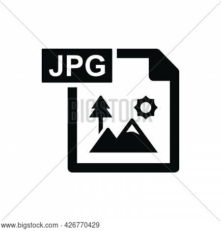 Jpg Image Icon. Meticulously Designed Vector Eps File.