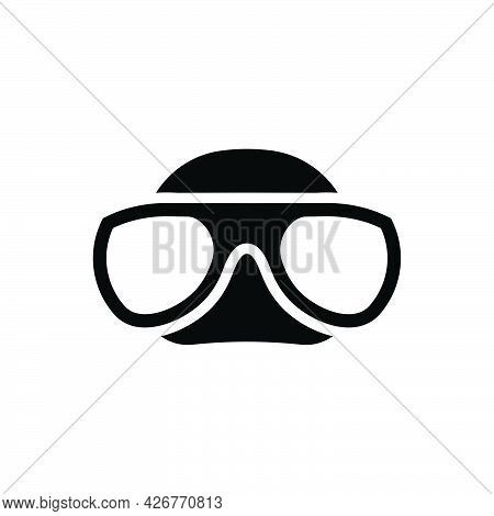Scuba Mask Icon. Meticulously Designed Vector Eps File.