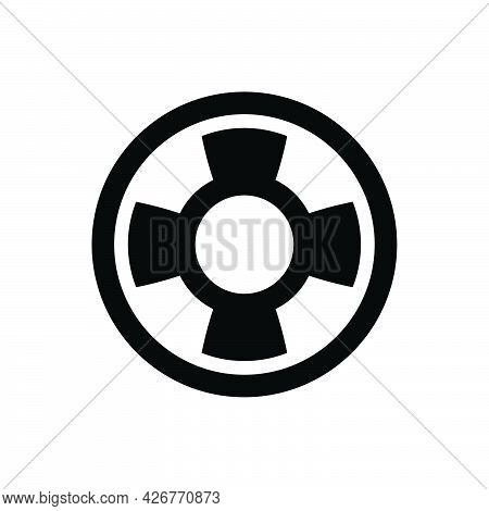 Life Buoy Icon. Meticulously Designed Vector Eps File.