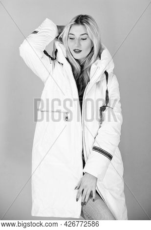 Girl Wear White Jacket. Not Every Jacket Is Ideal For Every Climate. Fancy Winter Clothes. Jacket Ha