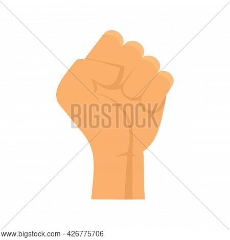 Fist Icon. Flat Illustration Of Fist Vector Icon Isolated On White Background