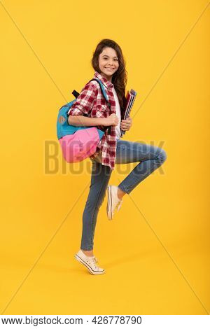 Back To School And Looking Cool. Energetic Tween Back To School. Back-to-school. New Beginnings