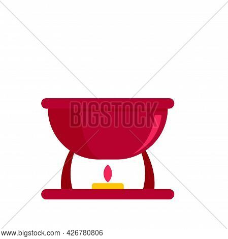 Swiss Bbq Icon. Flat Illustration Of Swiss Bbq Vector Icon Isolated On White Background