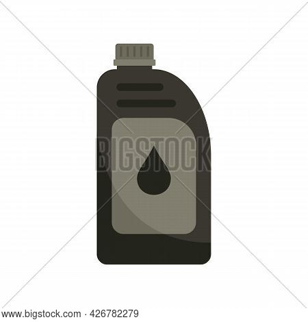 Car Motor Oil Icon. Flat Illustration Of Car Motor Oil Vector Icon Isolated On White Background