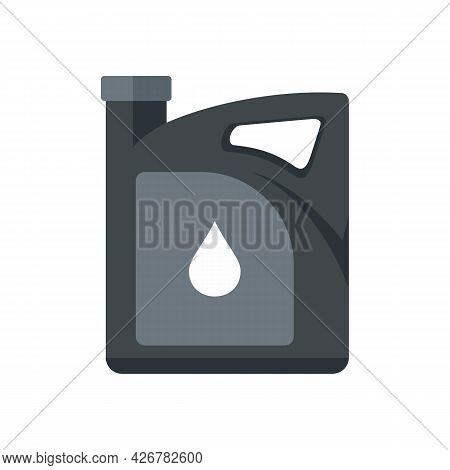Service Motor Oil Icon. Flat Illustration Of Service Motor Oil Vector Icon Isolated On White Backgro