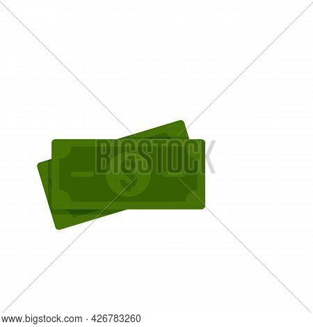Money Cash Loyalty Icon. Flat Illustration Of Money Cash Loyalty Vector Icon Isolated On White Backg