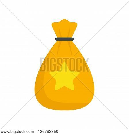 Loyalty Bag Icon. Flat Illustration Of Loyalty Bag Vector Icon Isolated On White Background