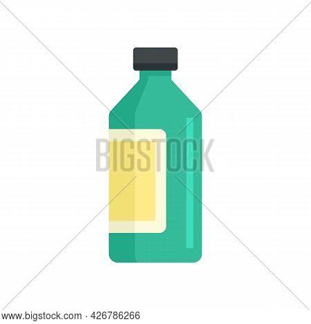 Syrup Bottle Icon. Flat Illustration Of Syrup Bottle Vector Icon Isolated On White Background
