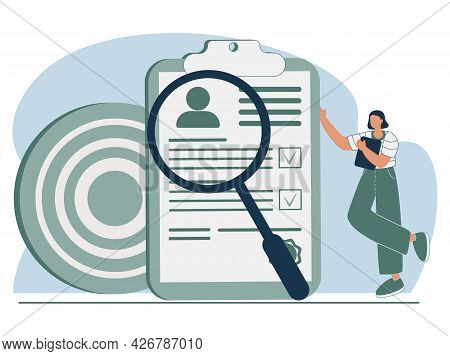 Hr Service Abstract Concept Vector Illustration. Apply For Job, Job Seekers, Career Advice, Hiring,