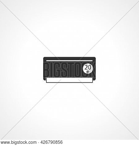 Air Conditioner Icon. Air Conditioner Isolated Simple Vector Icon