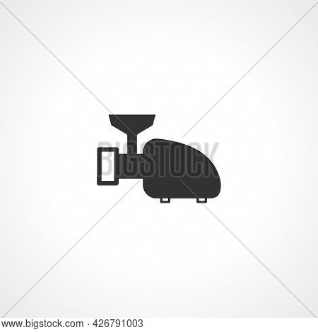 Meat Grinder Icon. Meat Grinder Isolated Simple Vector Icon