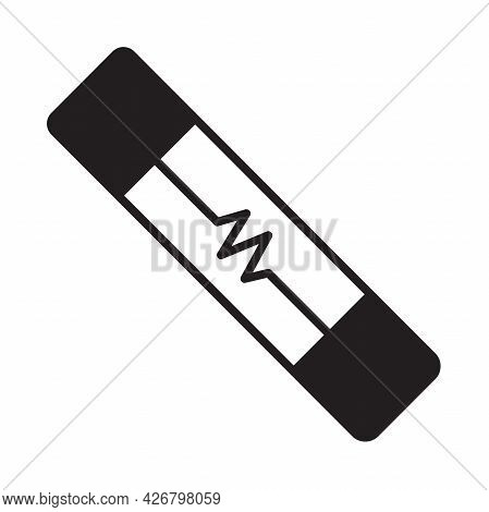 Electric Fuse Icon Vector For Graphic Design, Logo, Web Site, Social Media, Mobile App, Ui Illustrat