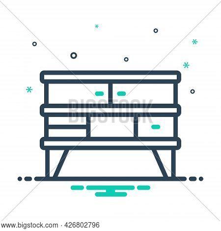 Mix Icon For Furniture Cupboard Cabinet Closet  Shelf Wardrobe Home Interior Accessory Appliance