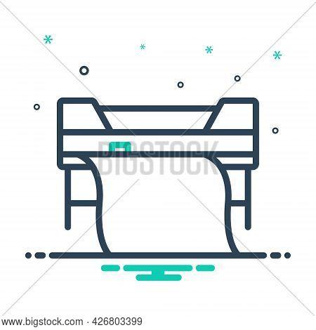 Mix Icon For Custom-printing Printer Printing Copierprinter Printing Copier Machine Technology Print