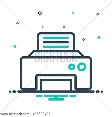 Mix Icon For Fax-message Telecommunications Fax Message Technologies Telefax Communication
