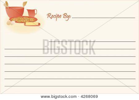 Recipe Card - Cookies