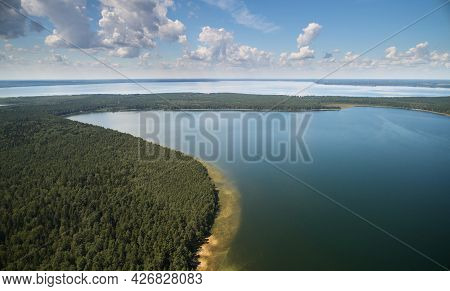 Beautiful Nature Landscape Aerial Drone Top View