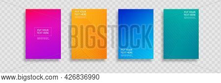Minimal Covers Design. Colorful Halftone Gradients.background Modern Template Design For Web. Cool G