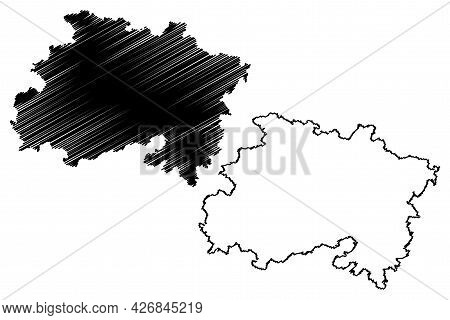 Lichtenfels District (federal Republic Of Germany, Rural District Upper Franconia, Free State Of Bav